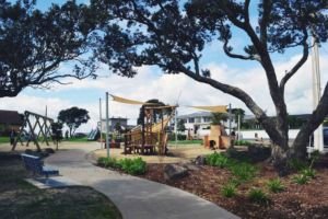 milford reserve play space by greenscenenz